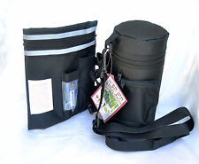 Tefillin and Talit Cover Bag pouch,hard thermal protector tefilin.Black Color