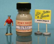 34750 - Peinture Dinky Touch gris jaune pour Citroen 2cv  Dinky Toys 500