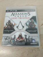 Assassin's Creed Ezio Trilogy PlayStation 3 PS3 Ubisoft