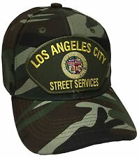 City Of Los Angeles Street Services Hat Color Camo Adjustable