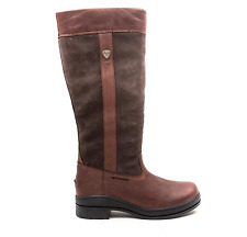 Ariat Boots Women's Windermere Waterproof Color Chocolate B-Medium Calf SIZE 8