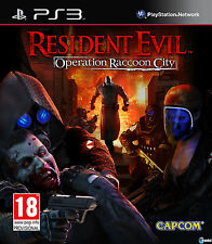 Resident Evil Operation Raccoon City Ps3 (Leer Anuncio)