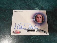 James Bond Archives 2014 Edition - Karin Dor Autograph A253