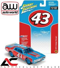 AUTOWORLD JLSP002 1:64 1974 DODGE CHARGER RICHARD PETTY 43 NASCAR RACING