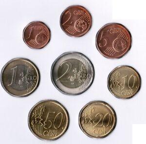 Slowenien Kursmünzen 1 Cent bis 2 Euro 2010 prägefrisch in 8er Hülle