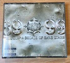 GANGSTARR -FULL CLIP-A Decade of Gang Starr - 2 DISC SET CD