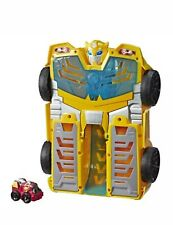New! Playskool Heroes Transformers Rescue Bots Academy Bumblebee Track Tower