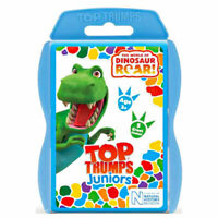 Top Trumps Dinosaur Roar Jnr discover new and exciting facts about Dinosaur Roar