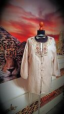 GUDRUN SJÖDEN GR.M-L Damen used Lagenlook Tunika Longtunika  -women's tunic