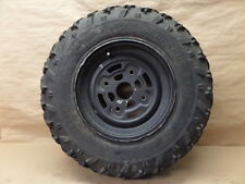 """2005 BOMBARDIER OUTLANDER 400 HO 4X4 CAN-AN FRONT RIGHT WHEEL RIM WITH TIRE 12"""""""