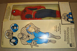 MEGO WORLD'S GREATEST SUPER-HEROES THE AMAZING SPIDER-MAN 12 1/2 INCH MEGO CORP