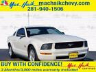 2009 Ford Mustang 2dr Cpe 2009 Ford Mustang 2dr Cpe 115465 Miles WHITE 2dr Car 4.0L