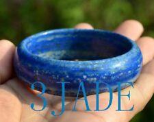 57mm Rare Natural Lapis Lazuli Gemstone Bangle Bracelet