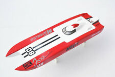 DT E32 Fiberglass Well Painted RC KIT Racing Boat Hull for Advanced Player Model