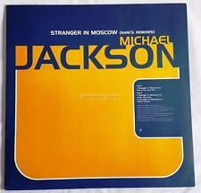 "Michael Jackson - Stranger In Moscow (Hani Remix) UK 12"" Promo"