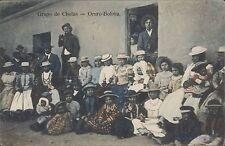 BOLIVIA ORURO GRUPO DE CHOLAS
