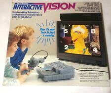 View-Master Interactive Vision Disney Sesame Street VHS Interactive Video Game