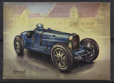 Bugatti 35 B Racing Car 1927 Vintage 1950s Dutch Trading Card No.150