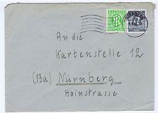 Bizone/AM-Post in MiF Kontrollrat, Mi. 3, 920, Nürnberg 2 (apt), 1.8.46