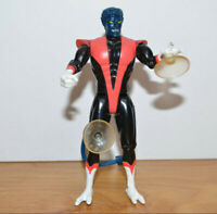 "Vintage MARVEL Toybiz NIGHTCRAWLER Action Figure 5"" 1991 X-Men Comics"