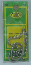 """Fishie Tackle 702 Bead Chain Rig 7/0 Hook OverAll Length 7.5 """" 20609"""