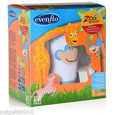 Evenflo Infant Starter Kit - Zoo Friends #1 0-3 Months Slow Flow