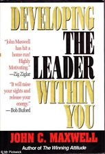 John Maxwell DEVELOPING THE LEADER WITHIN YOU HC Book