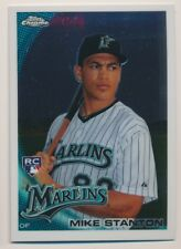 GIANCARLO MIKE STANTON #190 2010 Topps Chrome RC MARLINS/YANKEES