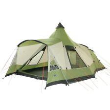 10T Navaho 470+ - Tente tunnel 5 places avec un espace de vie pyramidal et un au