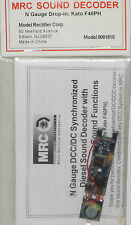 MRC N Scale Drop In Sound Decoder Kato F40PH NEW 1810