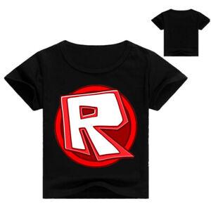 Roblox R Boys Girls Kid's Unisex T-Shirt 100% Cotton  AU Shop