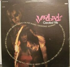THE YARDBIRDS - GREATEST HITS - LP USA STEREO KEITH RELF JEFF BECK rare OOP L@@K