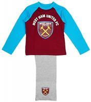 Boys Pyjamas WHU Pjs West Ham United Football Club Official 5 to 6 Years