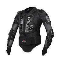 HEROBIKER Veste de protection complète pour Cross Country Riding Black L