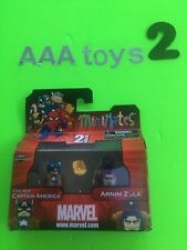 Mini Mates Marvel Captain America Civil War 2 pack Capt. America Arnim Zola NEW