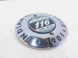 Indian Chief Chieftain Roadmaster Springfield Engine Primary Clutch Derby Cover