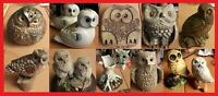 Selection of Collectable Owl Figurines - Choose the Ones You Want - All VGC
