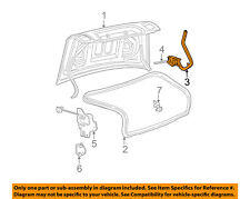 Lincoln FORD OEM 00-06 LS Trunk Lid-Hinge Right 3W4Z5442700AB