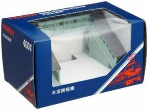 TOMIX N gauge wooden overpass 4004 model railroad supplies Japan 160830