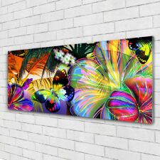 Superior Print On Glass Wall Art 125x50 Picture Image Abstract Art