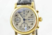 Mont Blanc 7016 Masterpiece Automatic Chrono 4810 Gold Plated RAR Men's Watch