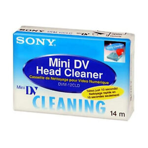 Sony Cassetta puliscitestine mini dv Videocamera Digital minidv cleaner cleaning