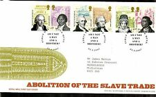 GB 2007 FDC Slave Trade abolition Bicent special handstamp Hull stamps