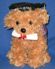 Ty Classic Plush - Grad The Dog - Class Of 2007 – Mint with Mint Tags