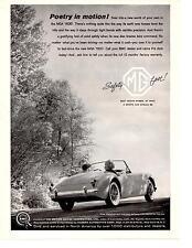 1960 MG MGA 1600  ~  NICE ORIGINAL PRINT AD