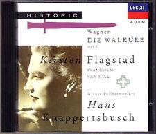 WAGNER: DIE WALKÜRE Akt 1 Kirsten Flagstad Set Svanholm HANS KNAPPERTSBUSCH 1CD