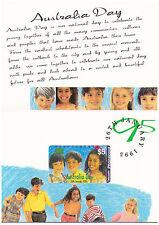 $5 Telecom Phonecard Pack - Australia Day 1995 - MINT