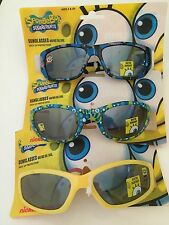 Boys Girls SPONGEBOB SQUAREPANTS UV Sunglasses Children Kid 3 Pairs!!!