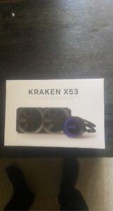 NZXT Kraken X53 240mm AIO Liquid Cooler with RGB