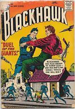 Blackhawk #110, DC Comics 1957, Dillin/Cuidera,  VG-